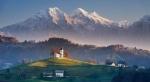 гора Триглав в Словении