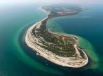 остров Джарылгач с высоты