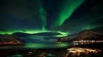 Норвегия ночью