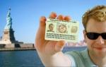 Выигрыш в лотерею Грин Карту – легкая возможность иммиграции в США