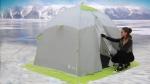 утепленная зимняя палатка для рыбалки