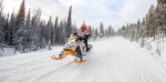 Обучение вождению снегохода – подготовка к зимнему туризму
